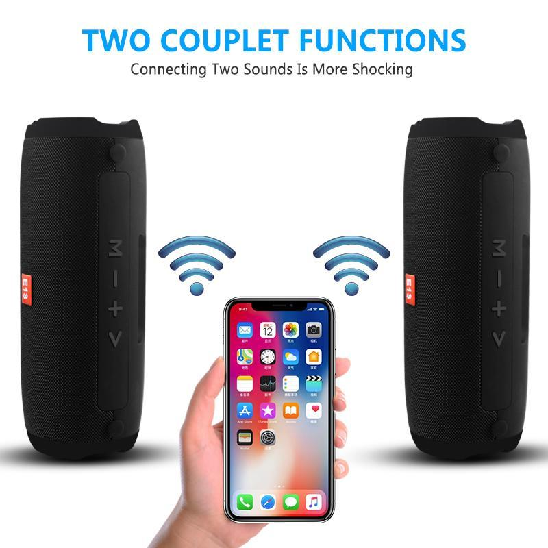 Bluetooth Speaker Wireless Portable Stereo Sound Big Power