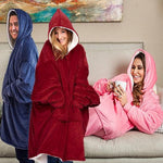 Oversized Comfy Blanket Hoodie (50% Off - Holiday Sale)