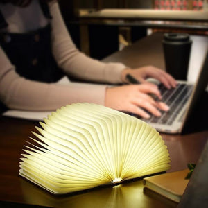 Creative Book Shaped Wooden Lamp (Memorable Christmas Gifts for 2019)