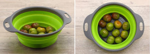 SQUEEZE™ COLLAPSIBLE STRAINER 2PCS SET