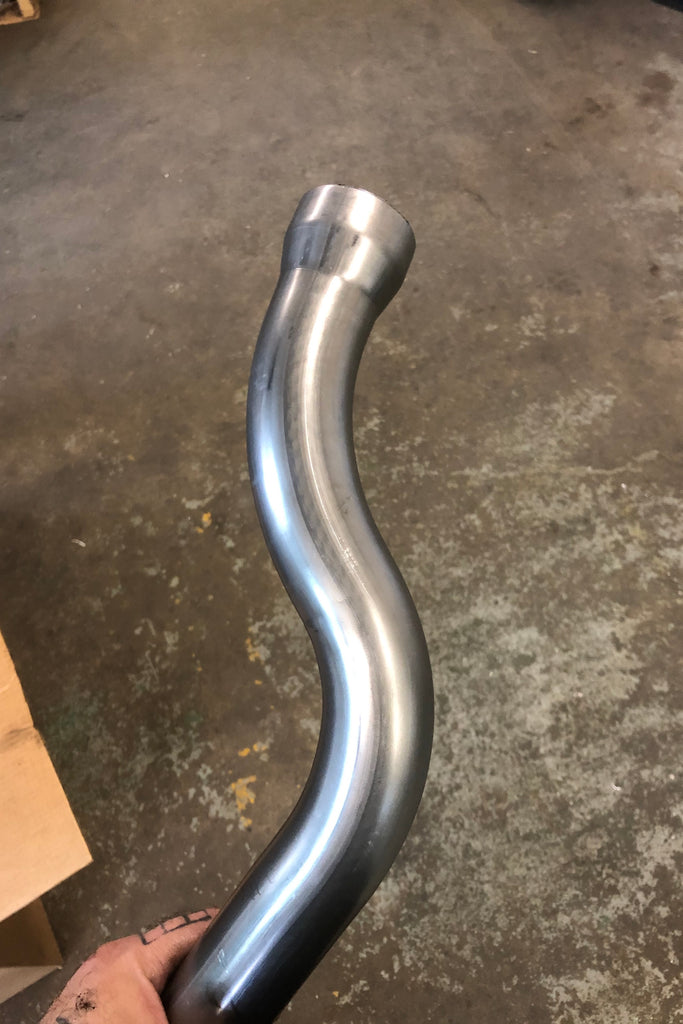 Swingarm Panhead Rear Pipes
