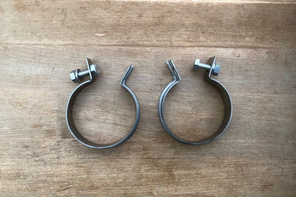1951-65 Panhead Port clamps