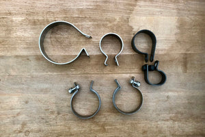 1958-64 Panhead complete clamp set