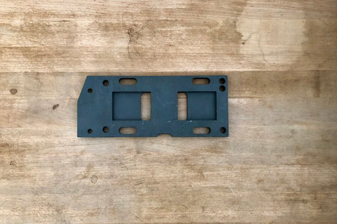 1958-61 Transmission mounting plate, 47698-36A