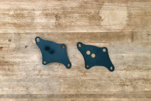 Ironhead front motor plates with oil filter mount