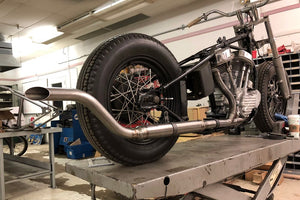 Custom Upsweep Muffler