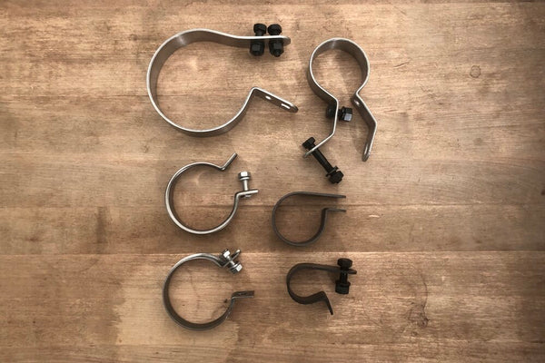 1951-57 Panhead Complete Clamp set
