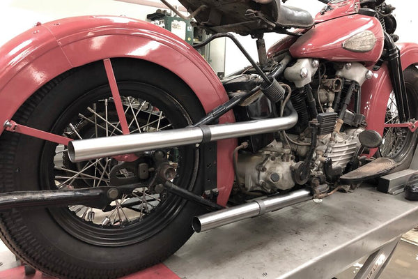 Knucklehead High Rear pipe