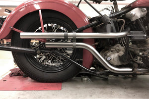 Knucklehead Up Sweep Shotgun Exhaust
