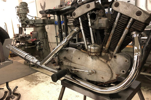 1957-65 Sportster 2 into 1 Head pipe