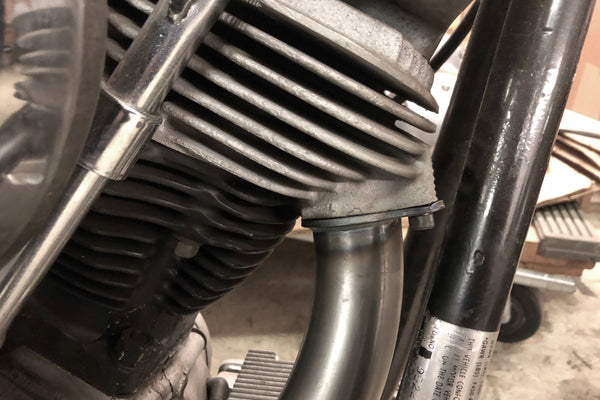 1970-1984 Big Twin 2 into 1 Exhaust