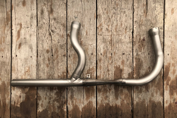 1958-1964 Big Twin Pan Swingarm Exhaust