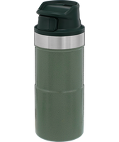 Stanley - 12oz Classic Trigger Action Travel Mug, Hammertone Green