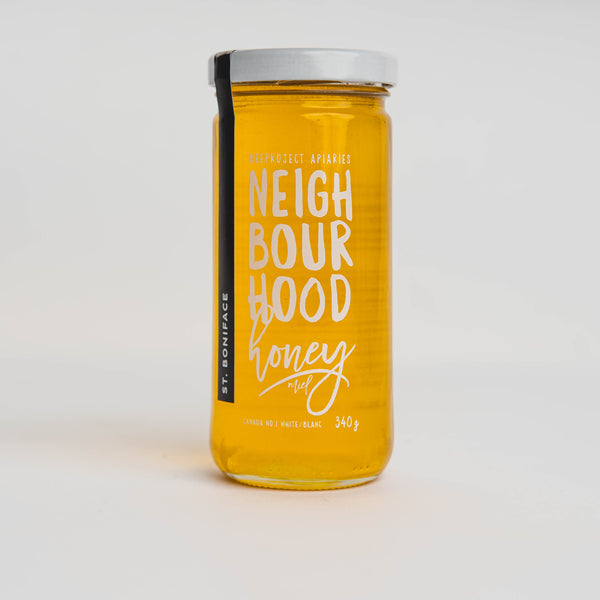 St Boniface - Beeproject Neighbourhood Honey, 340g
