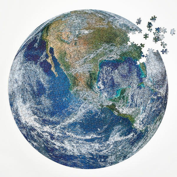 Four Point Puzzles - The Earth