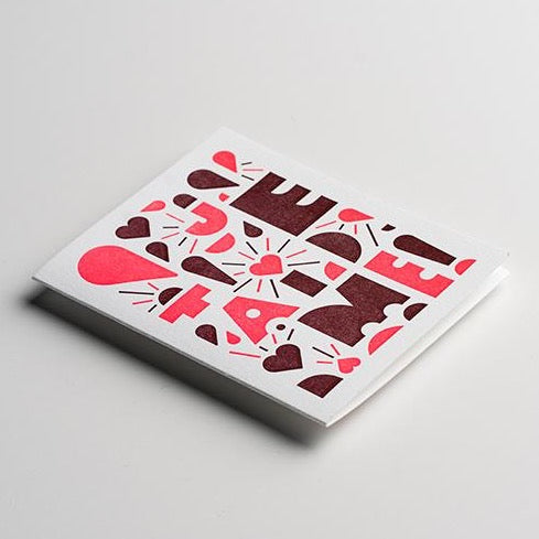 YOUI Paper Co. Greeting Card - Je'taime!