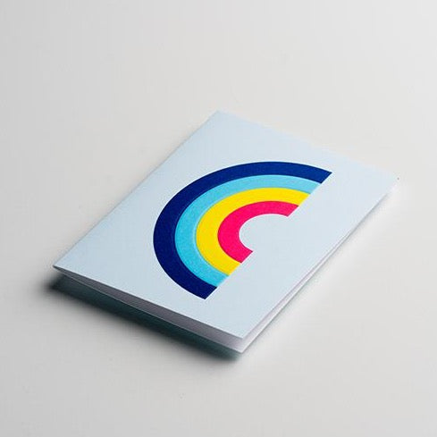 YOUI Paper Co. Greeting Card - Arc en Ciel