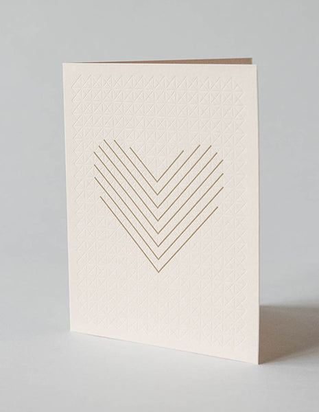 YOUI Paper Co. Greeting Card - Coeur