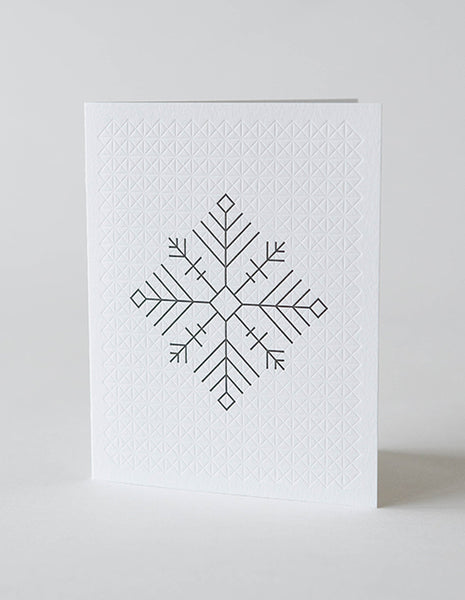 YOUI Paper Co. Greeting Card - Flocon