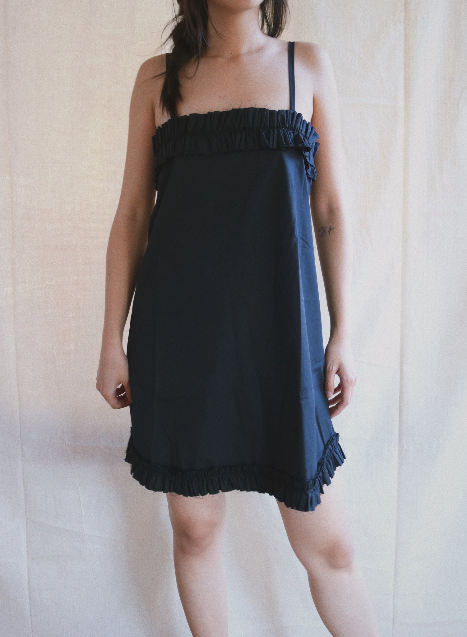 Mimi Dress in black sample