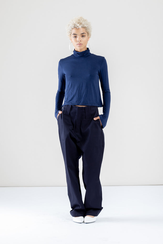 Mako Turtleneck Top