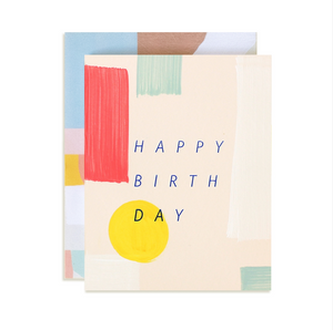 Moglea Spectrum Birthday Card