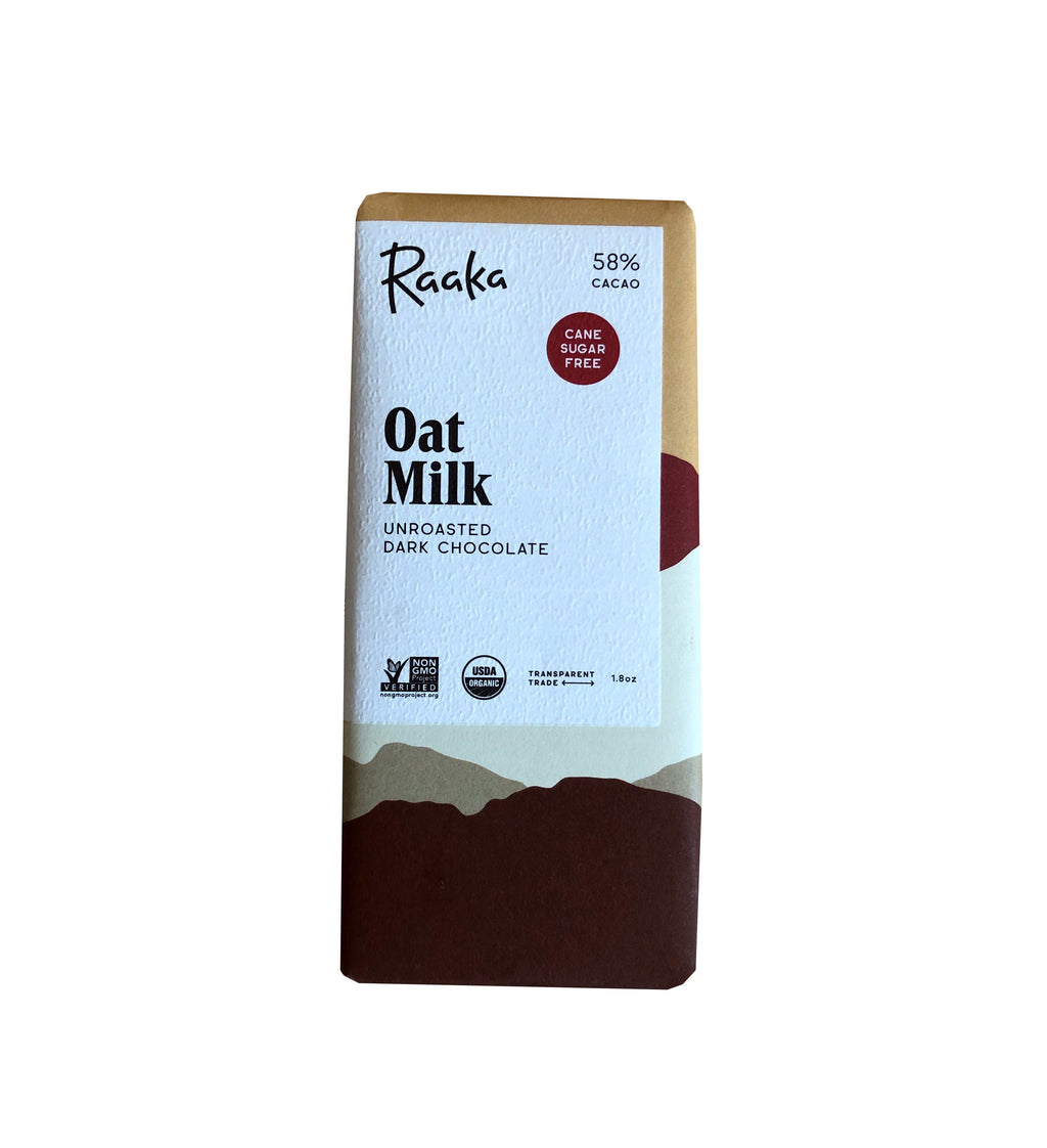 Oat Milk Raaka Chocolate