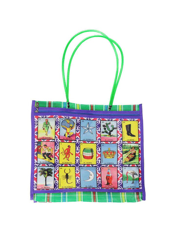 Reusable Plastic Bag 'Lotería'