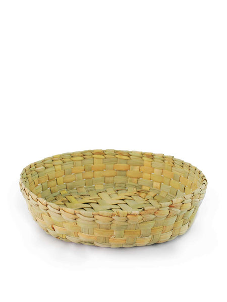 HAND WOVEN PALM BASKET (SET OF 4)