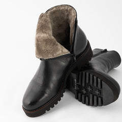 Montblanc Fur-Lined Boot