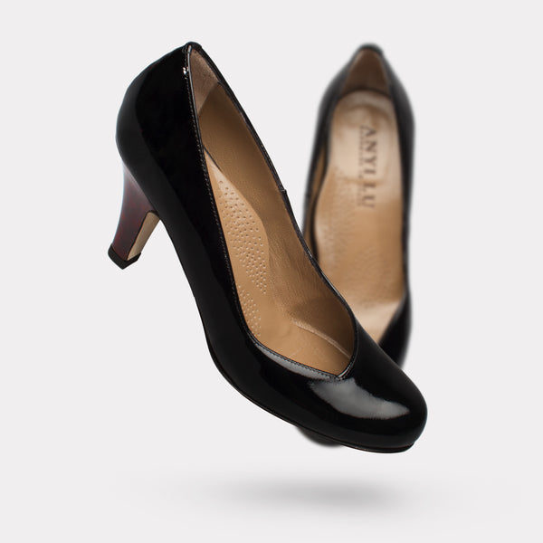 The Emily - Black Patent
