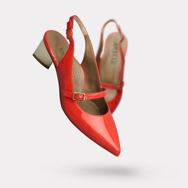 The Gigi - Coral Patent