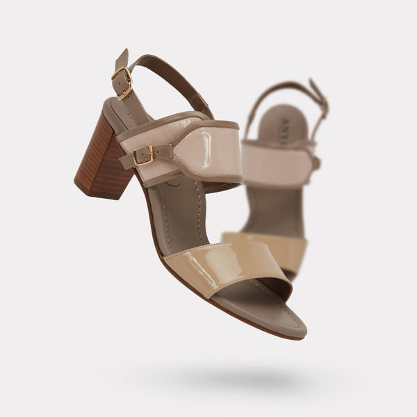 The Maria - Nude Patent / Blush Patent