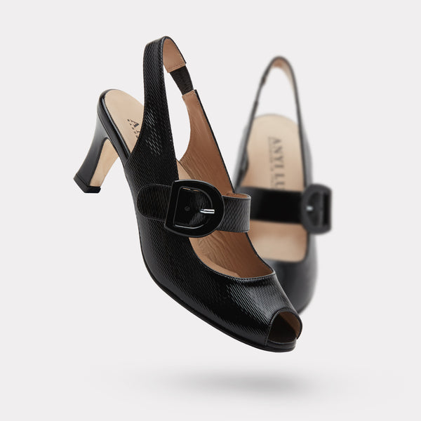 The Tulipe - Black Wave Patent