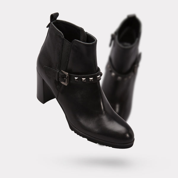 The Zayra - Black Calf / Tumbled
