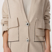 Lake Como Cardigan in Cream - Limited Edition