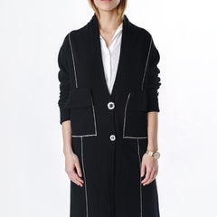 Lake Como Cardigan in Black - Limited Edition