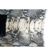Lake Como Scarf in Python Print - Limited Edition