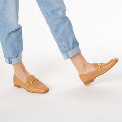 Le Loafer in Caramel Calf