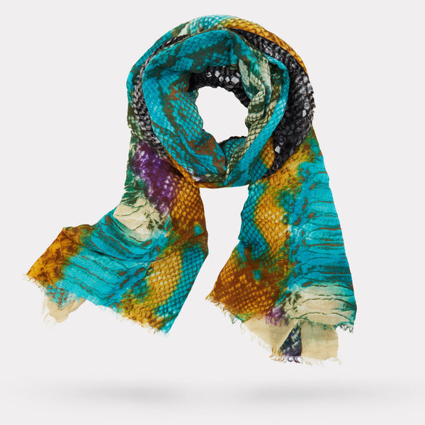 The Python Print Scarf - Multi-Color