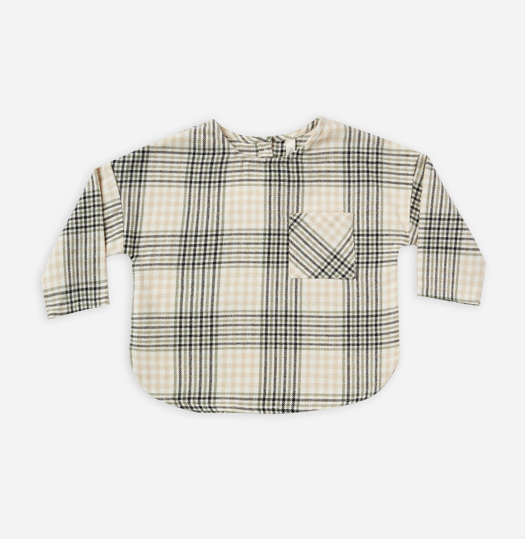 Jack Shirt in Forest Flannel