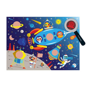 Outer Space Secret Pictures Puzzle