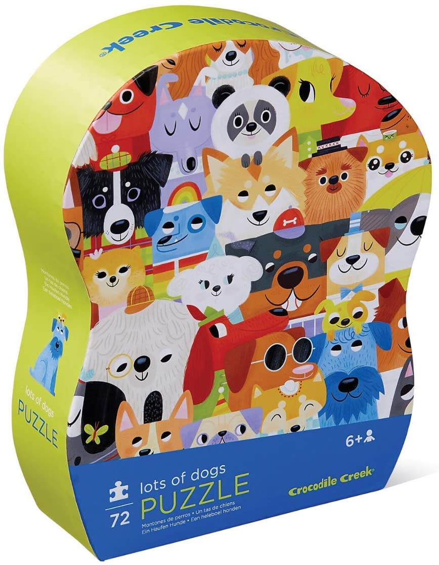 Lots of Dogs 72 Piece Puzzle