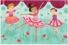 Load image into Gallery viewer, Ballerina Glitter Puzzle 100 Pieces