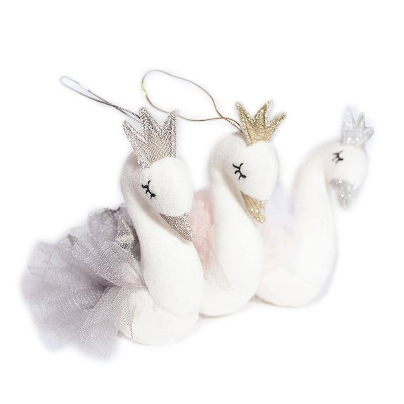 Swan Princess Ornaments
