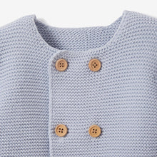 Load image into Gallery viewer, Cardigan - Blue 6 Months