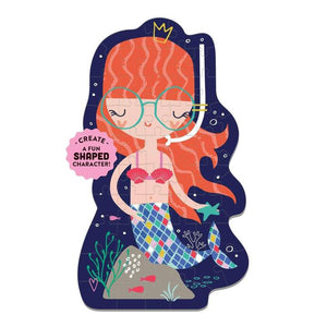 Mermaids shaped puzzle