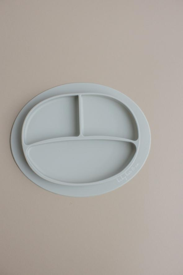 Silicone Plates - Suction -Taupe