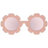 Load image into Gallery viewer, Petal Pink Flower With Peach Mirrored Lenses Ages 0-2
