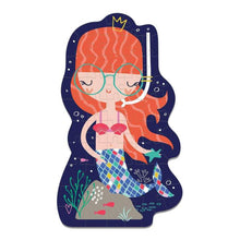Load image into Gallery viewer, Mermaids shaped puzzle